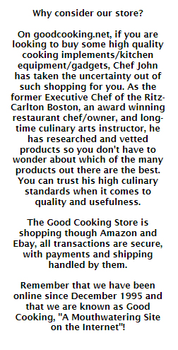 why shop at good cooking store
